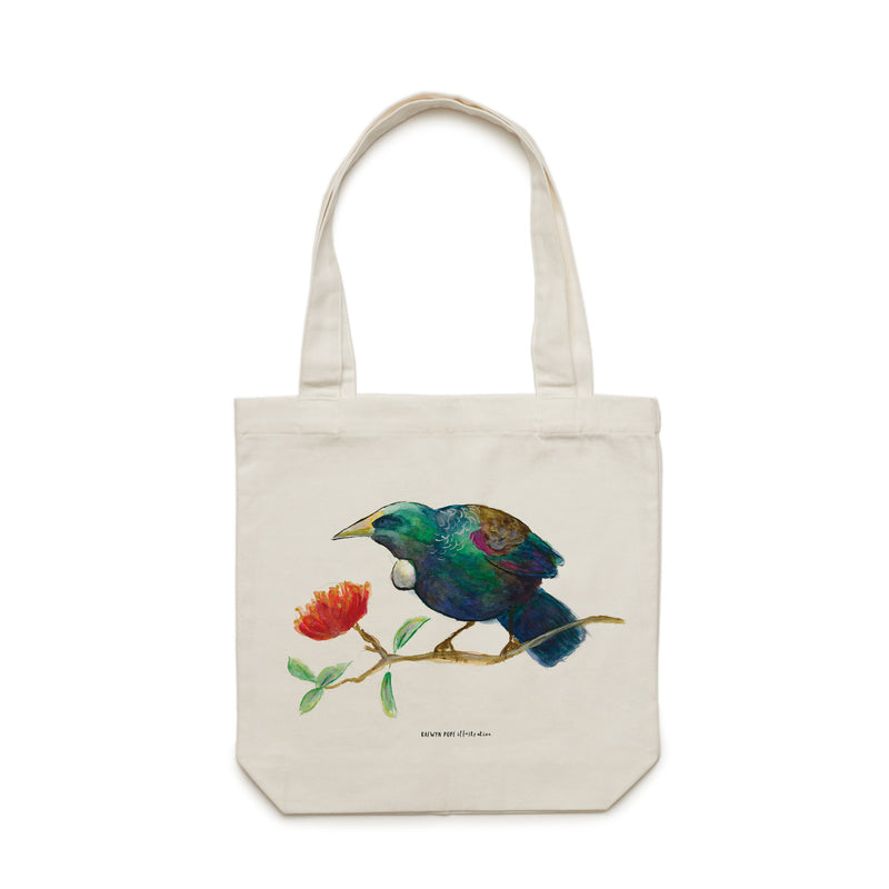 Tui Tote Bag - Raewyn Pope Illustration