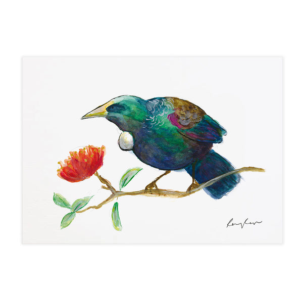Tūī - Raewyn Pope Illustration