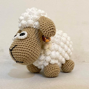 Standing Sheep Crochet Toy