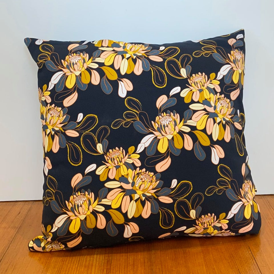 Warm Floral Cushion
