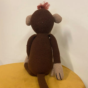 Monkey Crochet Toy