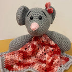 Comfort Mouse Crochet Toy