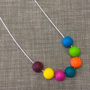 Silicone Necklaces (round beads)