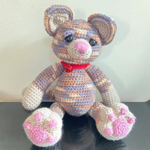 Ally Cat Crochet Toy