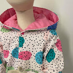 Kids Raincoat Jacket - Pink Spots
