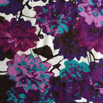 Custom Lamp Shade only - Pink & Purple Abstract Floral