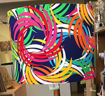 Custom Lamp Shade only - Bright Swatches