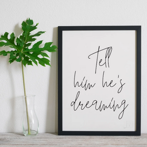 Typography Limited Edition Unframed Prints