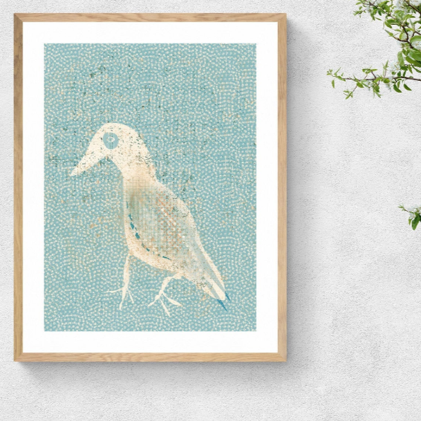 Framed Art Print - SEAGULL