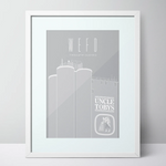 WEFO (West Footscray) Uncle Toby's Limited Edition Unframed Print