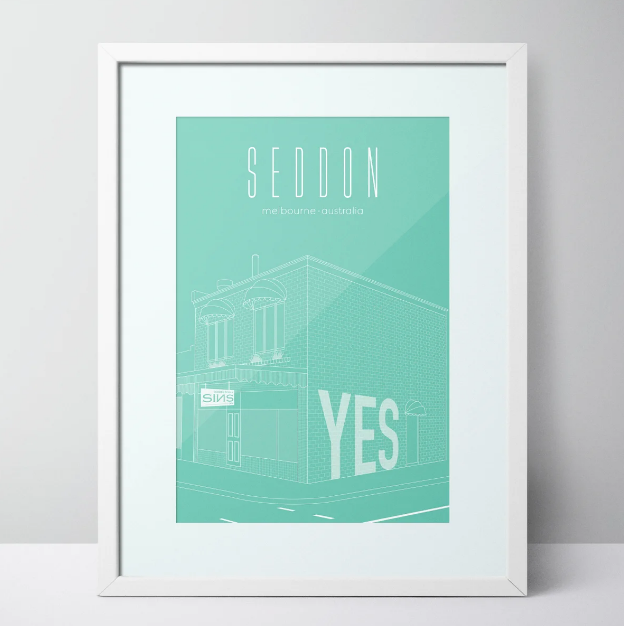 Seddon Deadly Sins - Seddon Limited Edition Print