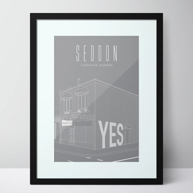 Seddon Deadly Sins - Seddon Limited Edition Unframed Print