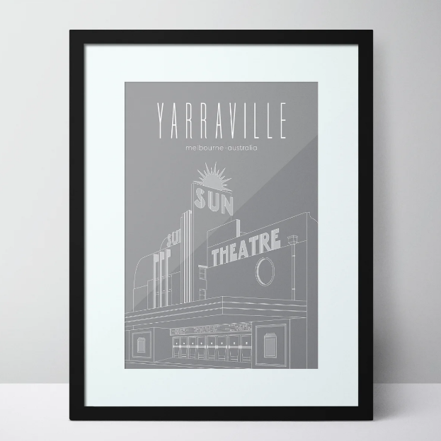 The Sun Theatre - Yarraville Limited Edition Unframed Print