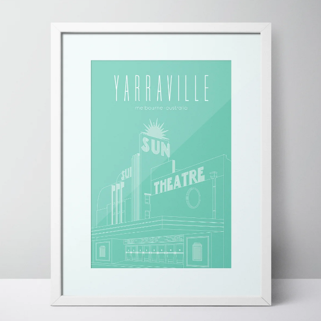 The Sun Theatre - Yarraville Limited Edition Print