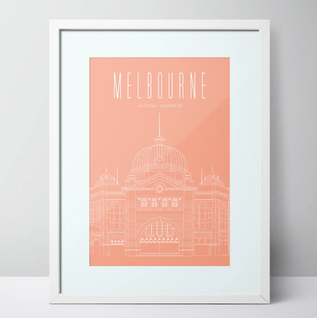 Flinders Street Station - Melbourne Limited Edition Print