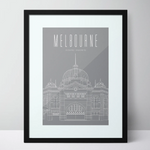 Flinders Street Station - Melbourne Limited Edition Unframed Print