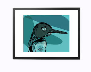 Unframed Giclée A5 Art Print - Polar Eyes