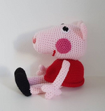 Peppa Pig Crochet Toy