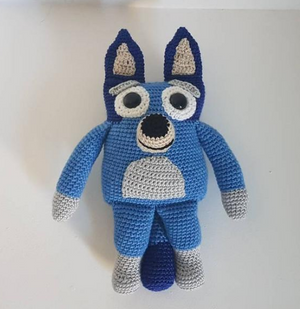 Bluey Crochet Toy