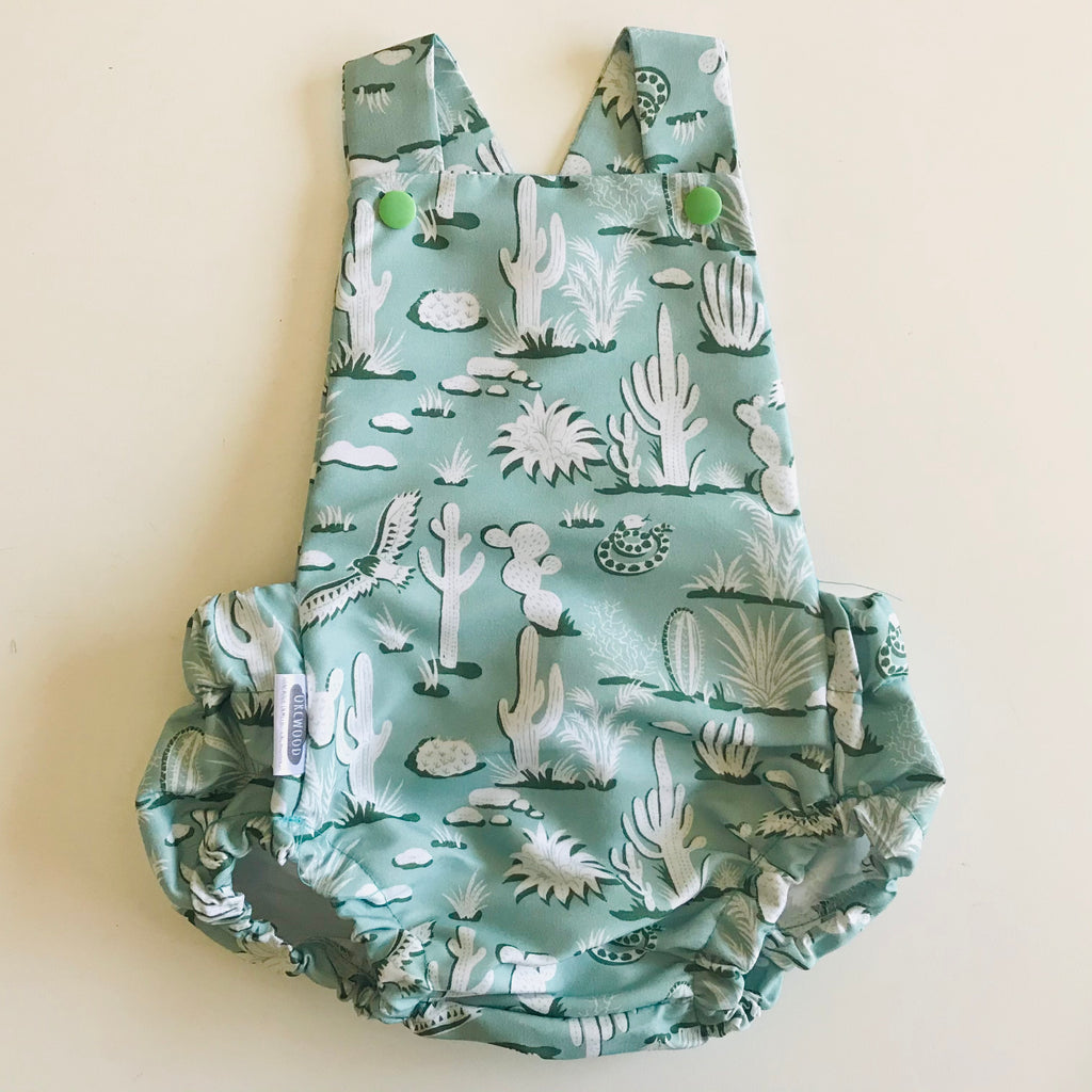 Baby Toddler Summer Romper - Cacti