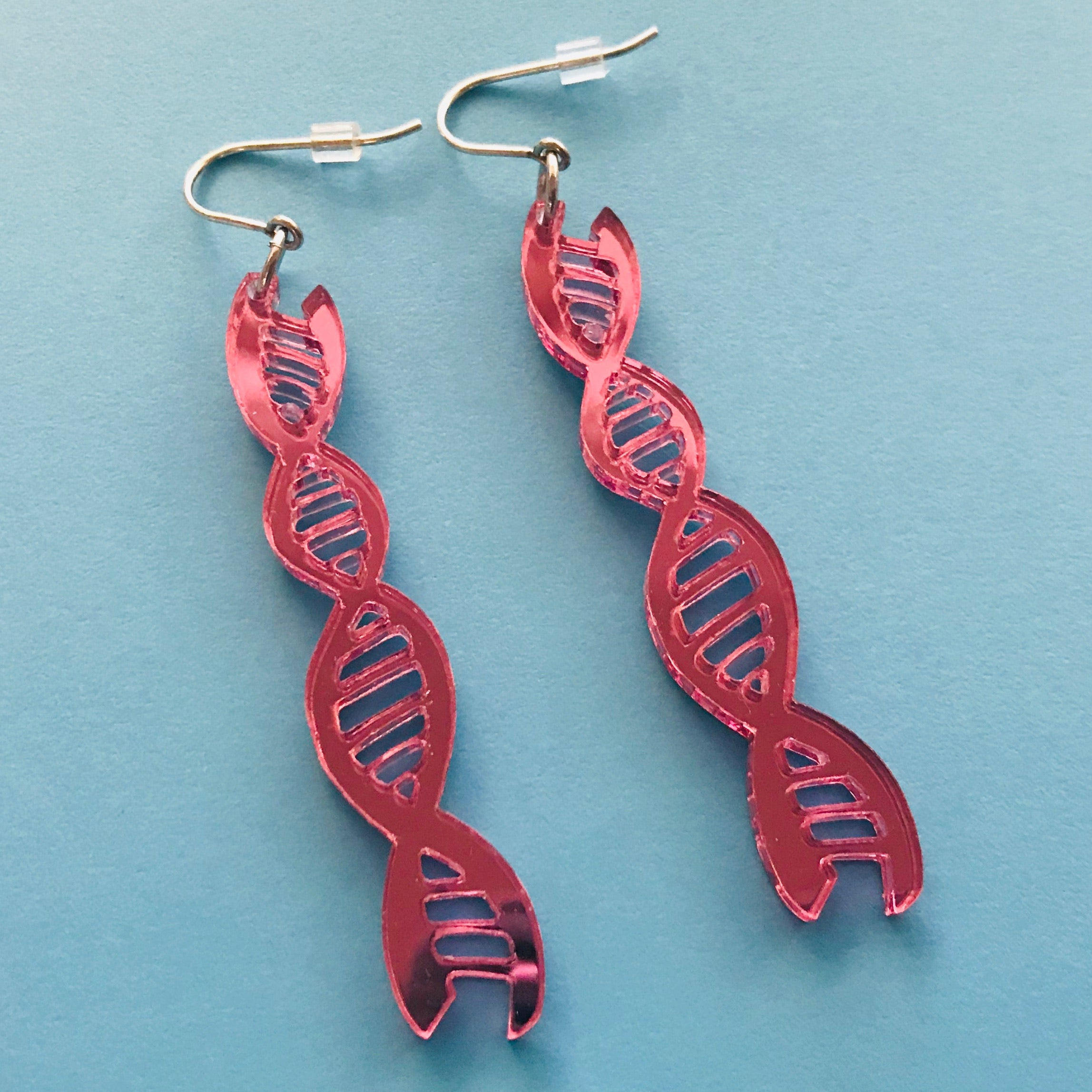 DNA Double Helix Fundraising Earrings