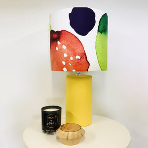 Custom Lamp Shade only - Marimekko Watercolour Paint