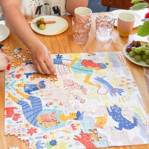Mindful Jigsaw Puzzle - Her Best Friend