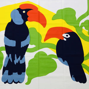 Custom Lamp Shade only - Marimekko Mega Birds (oversized print)