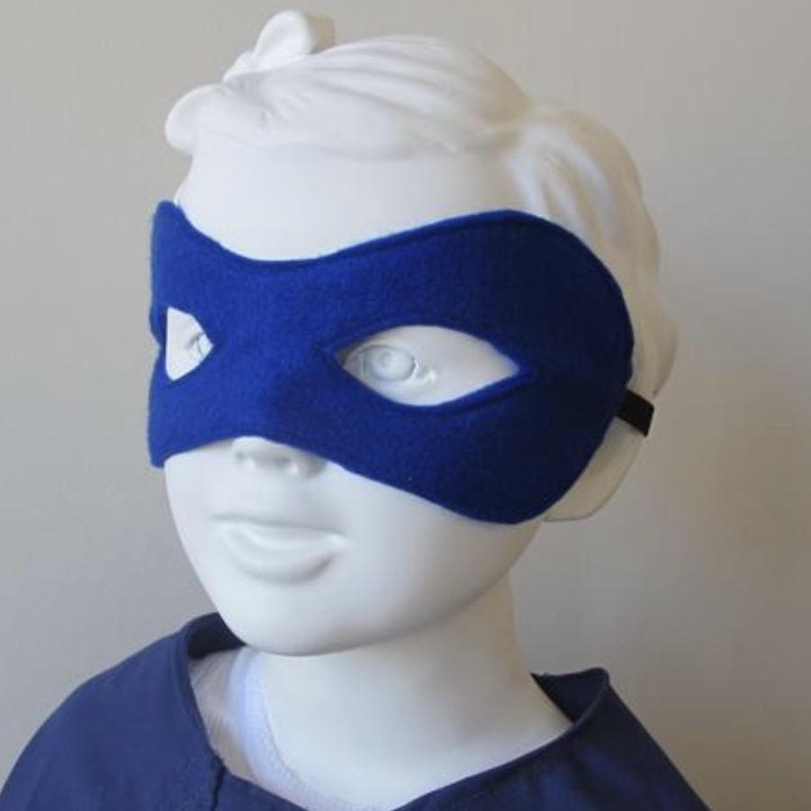 Superhero Dress Up Capes, Masks & Cuffs - ROYAL BLUE