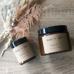 Earthy Range - Hand Poured Glass Candle Collection (two sizes)