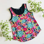 Women's All Rounder Singlet - Aqua Di Rose