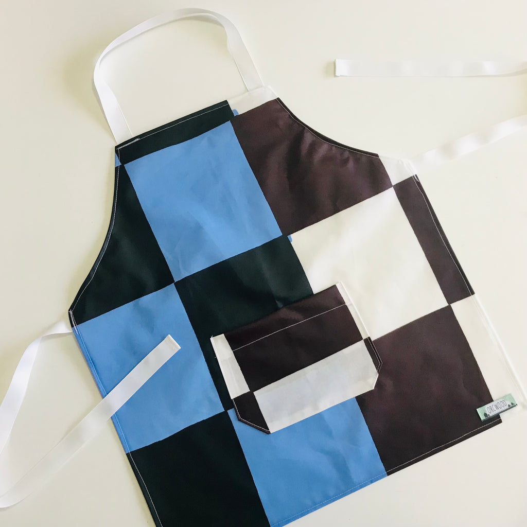 Apron (kids) - Laminated Cotton Check