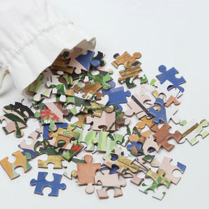 Mindful Jigsaw Puzzle - Green Haven