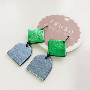 Alice Leather Earrings