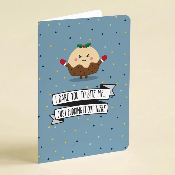 Novelty Christmas Card Pack of 8 with Envelopes - Quirky