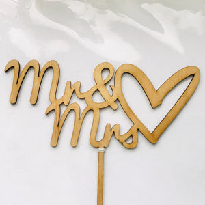 Cake Celebration Toppers - bamboo or acrylic