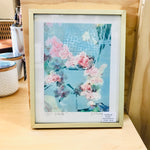 Framed Giclee 8x10 Art Print - Orchids