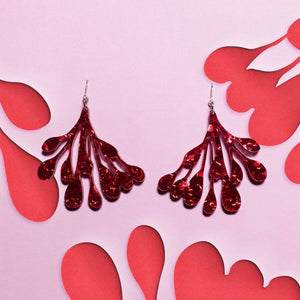 Lobes of the Breast (side view) Fundraising Earrings
