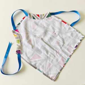 Apron (kids) -  Rainbow Triangles