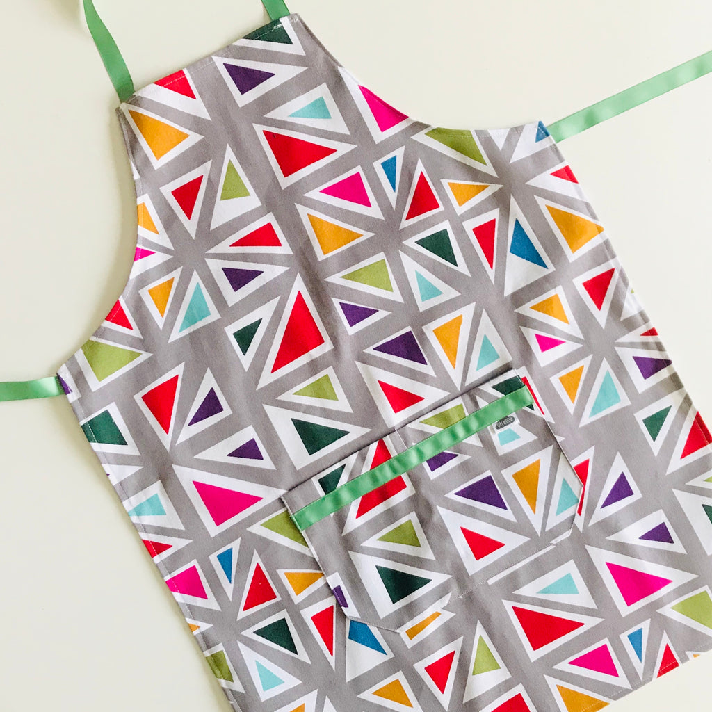 Apron (large / adult) -   Rainbow Triangles