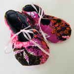 Baby Shoes - handmade OOAK lined cotton