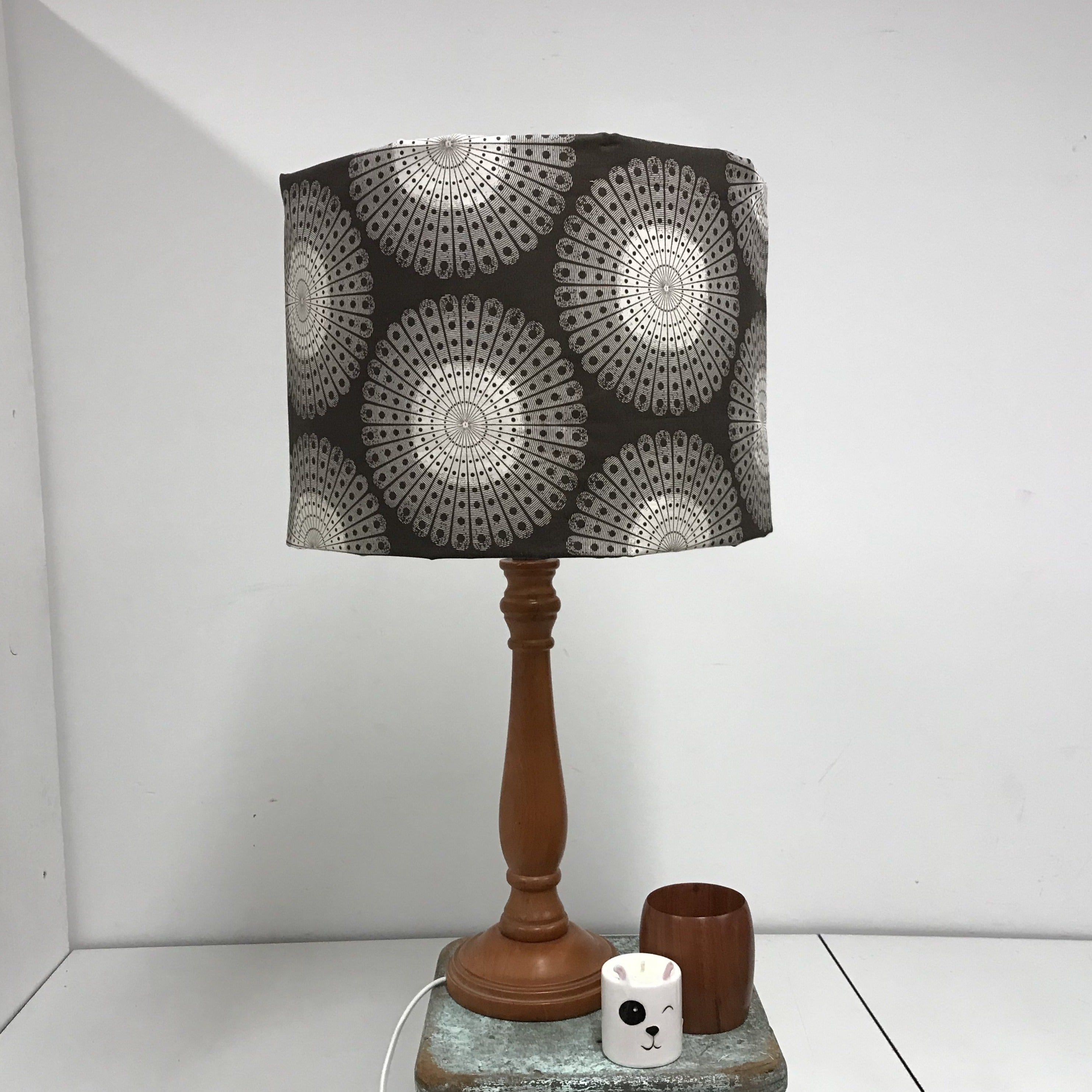 Custom Lamp Shade only - Sphere Bursts in Mocha