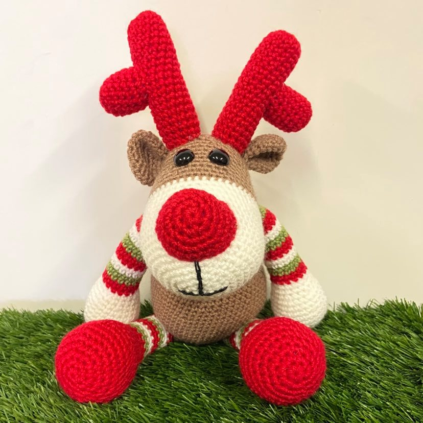 Reindeer Crochet Toy