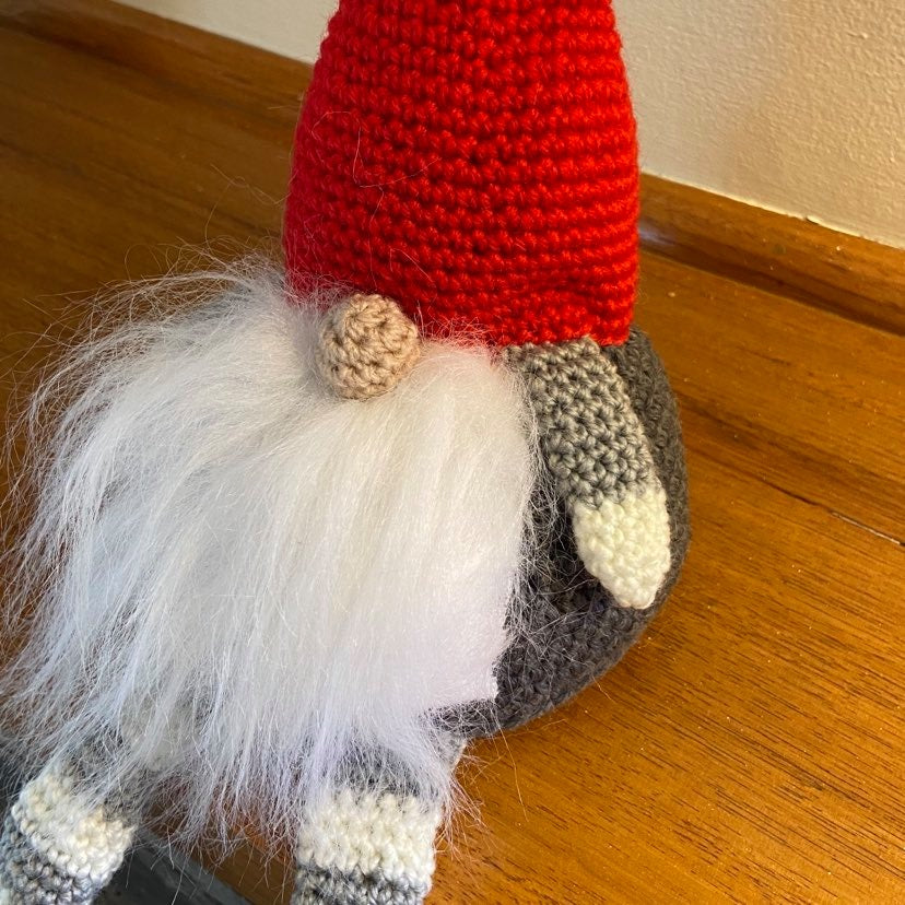 Christmas Shelf Elf Crochet Toy
