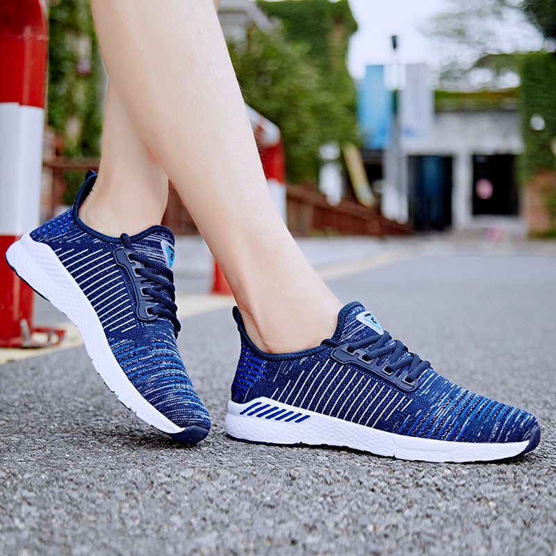 Walking Athletics Mesh Sports Shoes - athleisurebest.com