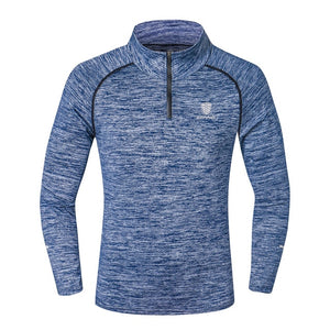 Long Sleeve Sport T-shirt For Men - athleisurebest.com