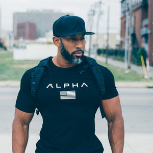 Short Sleeve Running T-Shirt for Men - athleisurebest.com