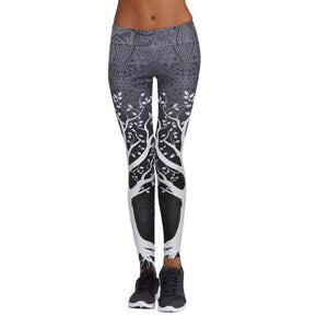 Printed Sports Yoga Pants for women - athleisurebest.com