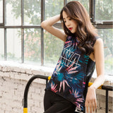 Sleeveless Yoga T- Shirt For Female - athleisurebest.com