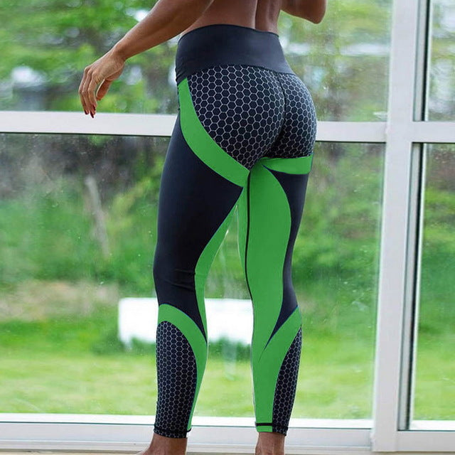 High Waist Print Leggings for Women - athleisurebest.com